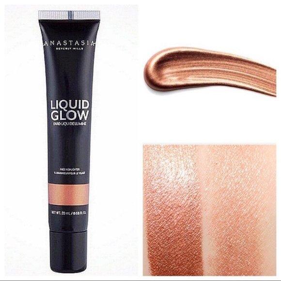 Anastasia ABH Liquid Glow Highlighter Rose Gold
